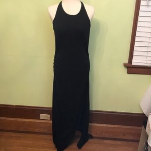 NWT Athleta black serenity maxi dress